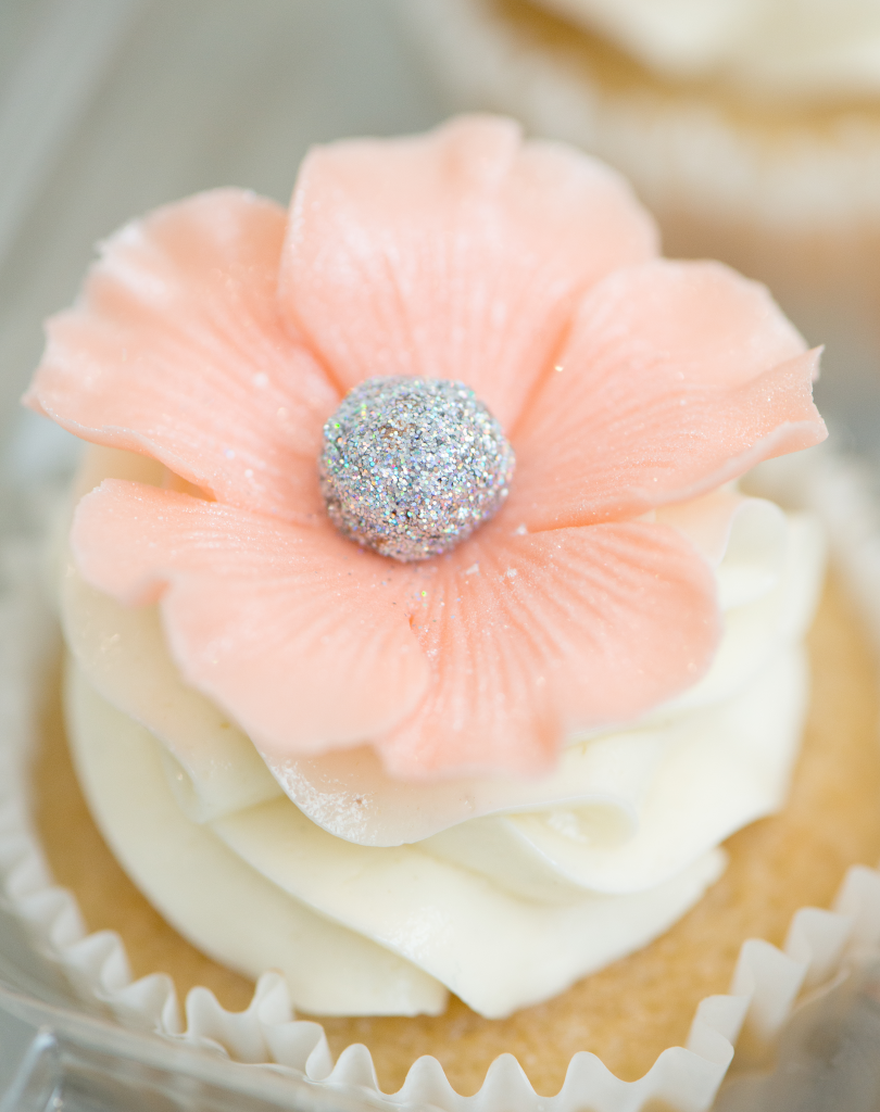Sweet Guilt By Angelica flower cupcake